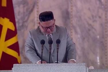 """""""Lágrimas de gratitud"""": Kim Jong Un se emociona durante su último discurso"""