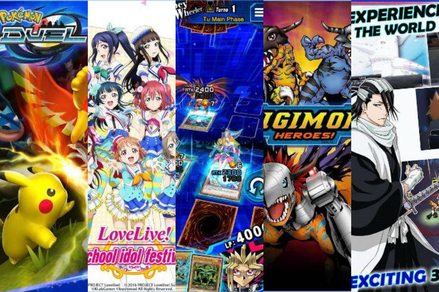 Anime en celulares