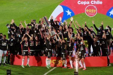 Colo Colo se quedó con la Copa Chile 2021 después de superar por 2-0 a Everton.
