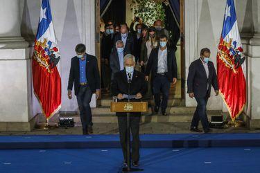 Presidente Piñera convoca a consejo de gabinete para las 17.00 con el fin de analizar la jornada electoral