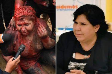 Golpeada, pintada y descalza: El resurgir de la alcaldesa boliviana agredida en 2019 y ahora senadora electa