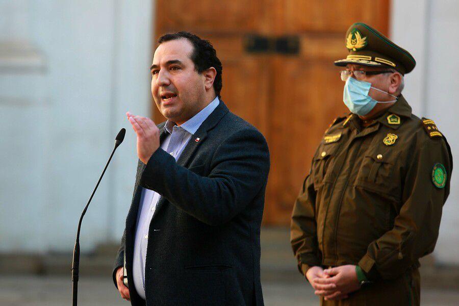 El subsecretario del Interior, Juan Francisco Galli.