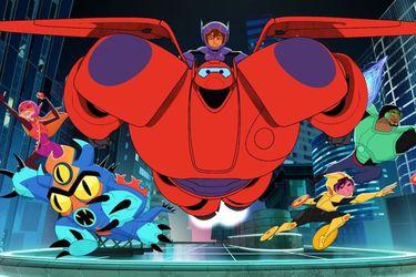 Revisa el primer tráiler de la serie animada de Big Hero 6