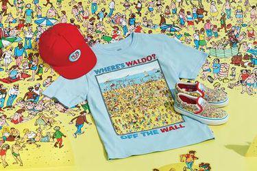 La colección de Vans inspirada en Dónde está Wally llegará a Chile en marzo