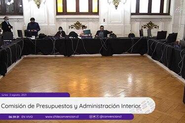 Comisión de Presupuesto aprueba creación de Comité Externo de Asignaciones y el Área de Asesoría de Administración y Transparencia de la Convención