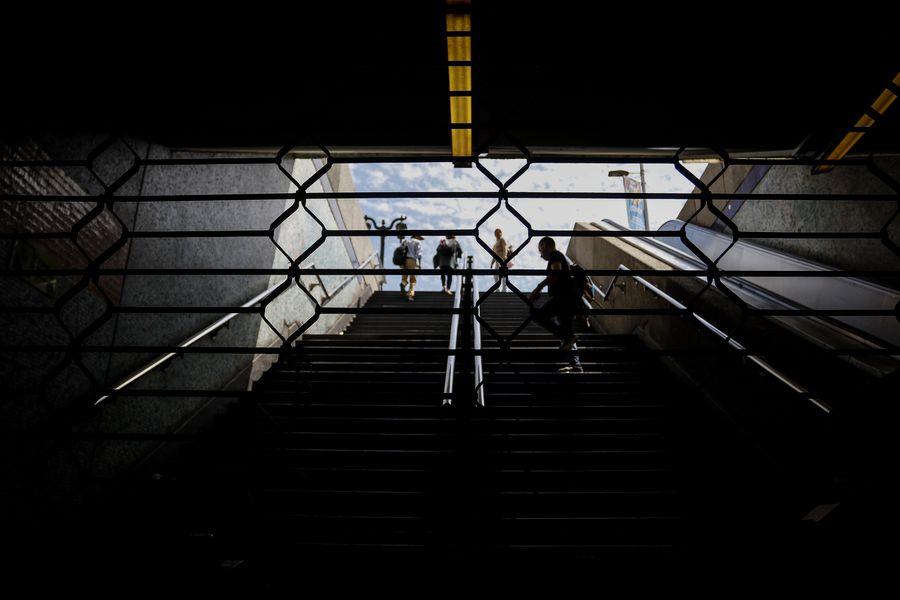 Estaciones de Metro parcialmente cerradas