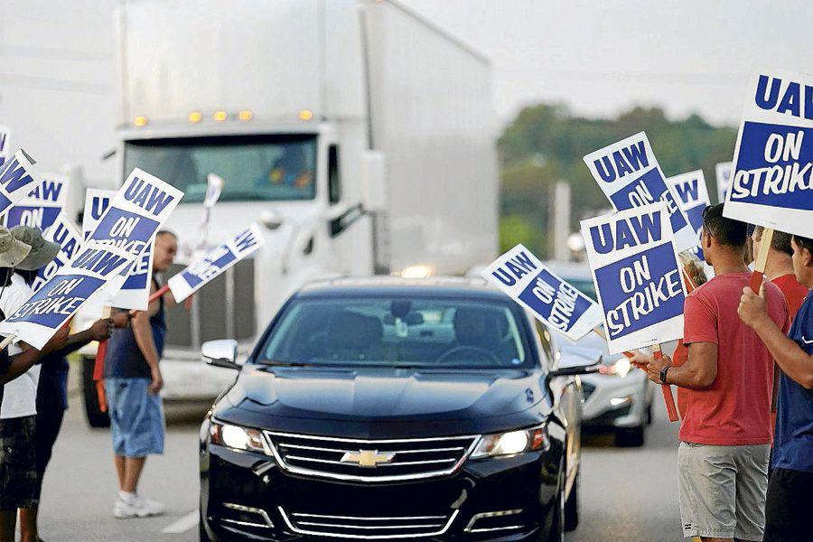 Huelga en General Motors