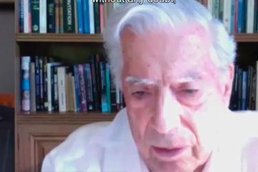 """Mario Vargas Llosa: """"De esta pandemia saldremos menos arrogantes y mucho más pobres"""""""