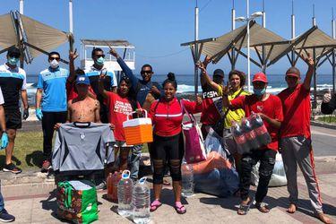 Deportes Iquique ayuda a hinchas del América de Cali varados en Chile
