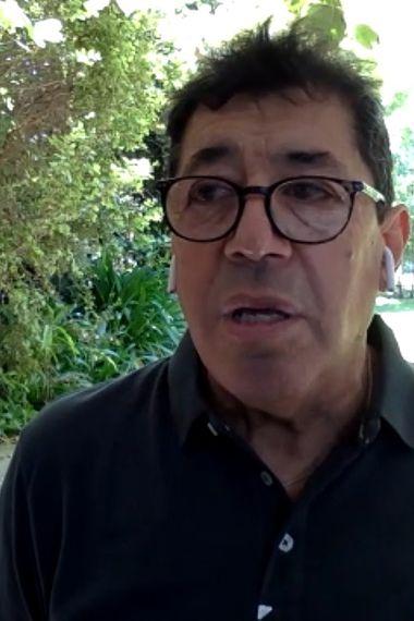 Marco Cornez, en su participación en El diván del Kily, el programa de conversación de El Deportivo.