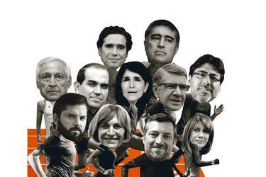 Los presidenciables en la línea de partida
