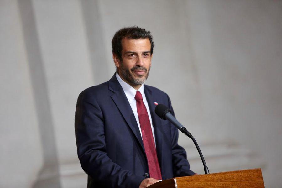 Rodrigo Delgado, nuevo ministro del Interior.