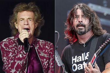 Mick Jagger y Dave Grohl se unen en canción pensada en el fin de la pandemia