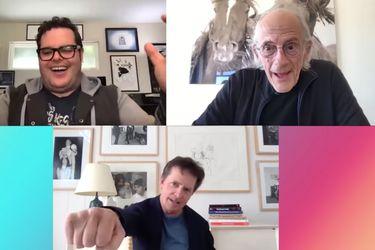 Volver al futuro: Marty McFly y el Doc Brown se reúnen vía Zoom