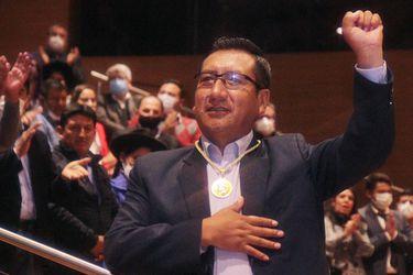 """Freddy Mamani, presidente de la Cámara de Diputados de Bolivia: """"Esperamos que en Perú no esté pasando lo mismo que en nuestro país en 2019"""""""