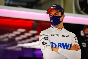 Sergio Pérez vuelve a dar positivo y se queda sin competir en Silverstone