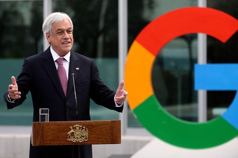 piñera google
