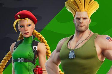 Guile y Cammy de Street Fighter también llegarán a Fortnite