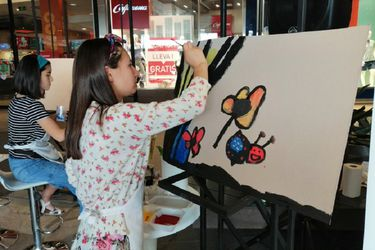 """""""El color de la inclusión"""": Fundación Descúbreme realizó actividad de arte con jóvenes con discapacidad cognitiva"""