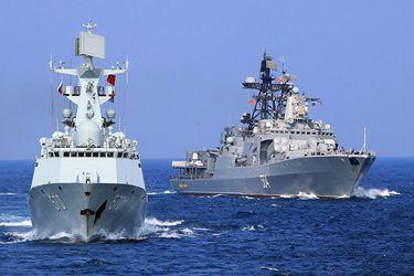Rusia y China inician un ejercicio militar conjunto en el mar de Japón