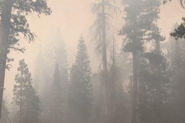 El gran incendio de Oregon está cambiando el clima