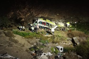 SML identifica a los 21 fallecidos en accidente de bus en Taltal