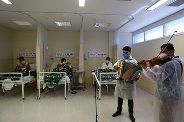 Brasil registra 3.693 nuevas muertes por Covid-19 y total aumenta a 348.718 personas