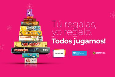 Asmodee Chile lanzó una campaña navideña para donar juegos y juguetes a las Aldeas Infantiles SOS