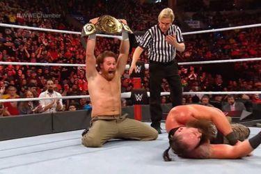 Sami Zayn no está de acuerdo con que la WWE le haya quitado el título Intercontinental