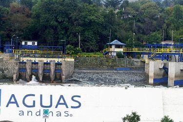 """Orrego fiscaliza corte de agua por mantención de acueducto El Carmen: """"Es importante que Aguas Andinas haga periódicamente estas revisiones"""""""