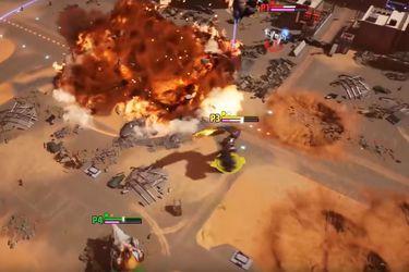 Sé un monstruo, destruye ciudades y combate contra otros kaijus en el videojuego Gigabash