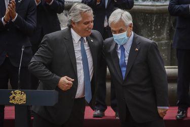 """Piñera desea una """"pronta y completa recuperación"""" a Presidente de Argentina tras contagiarse de Covid-19 y dice que """"con unidad, colaboración y resiliencia superaremos esta pandemia"""""""