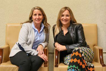 Diputadas Karin Luck (RN) y María José Hoffmann (UDI)
