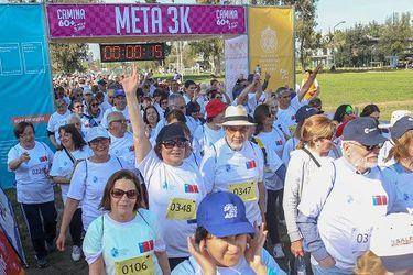 La UC organiza inédita caminata virtual para los adultos mayores