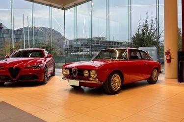 Alfa Romeo estrena su nueva casa matriz en Chile