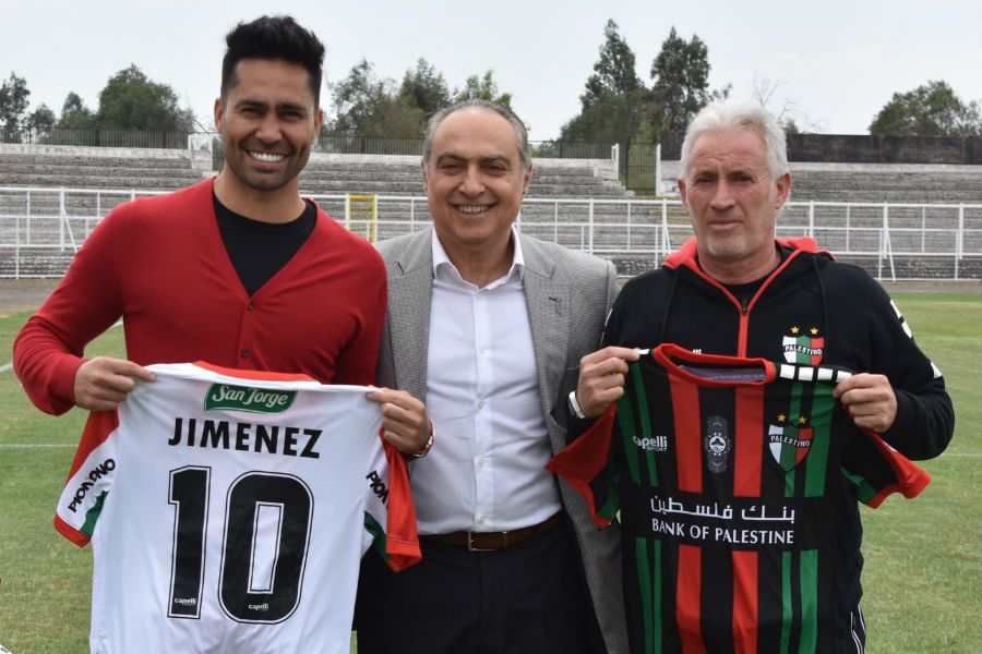 Luis Jiménez presentado en Palestino | Octubre, 2019