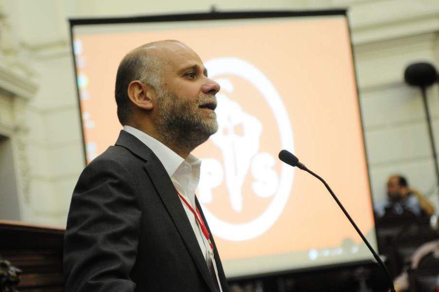 Alvaro Elizalde, presidente del PS