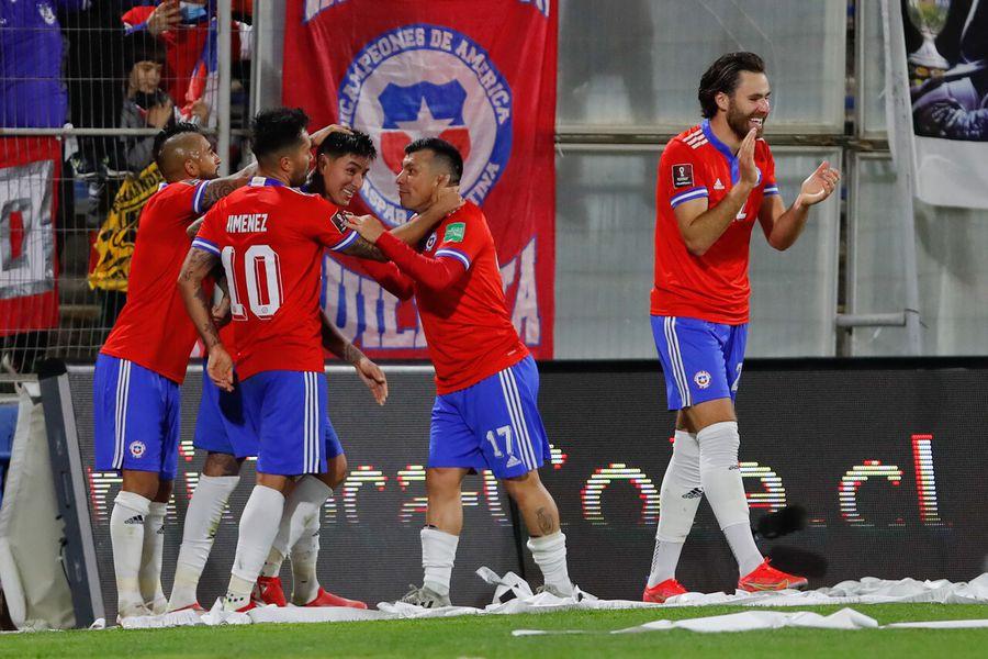 La Selección Chilena celebra frente a Venezuela, en San Carlos de Apoquindo. Sigue minuto a minuto este partido entre Chile y Venezuela.