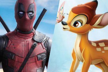 Ryan Reynolds trató de hacer un crossover entre Deadpool y Bambi