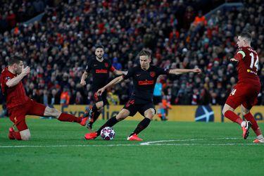 El campeón se queda afuera: el Atlético saca de carrera al Liverpool
