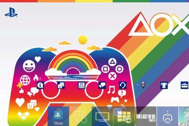 PlayStation lanza un tema gratuito para celebrar el mes del Orgullo
