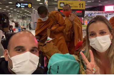 Varados por coronavirus: Matrimonio chileno pide ayuda para regresar tras fallida luna de miel en Tailandia