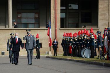 Piñera encabeza ceremonia de Juramento a la Bandera