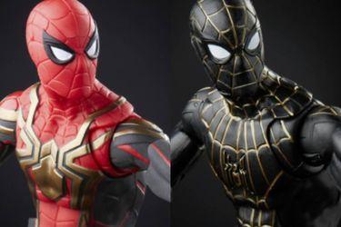 Conozcan a los nuevos trajes de Peter Parker con estas figuras oficiales de Spider-Man: No Way Home