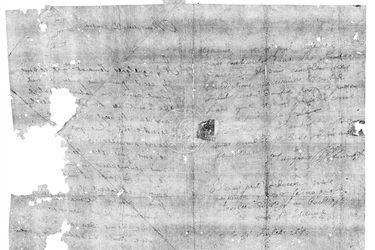 Un escáner dental permite leer una carta de 300 años sin abrirla