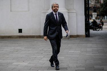 El ministro del Interior, Gonzalo Blumel.