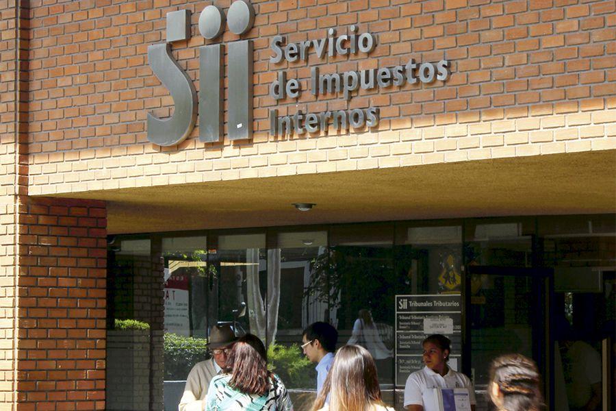 Fachada del Servicio de Impuestos Internos (SII).