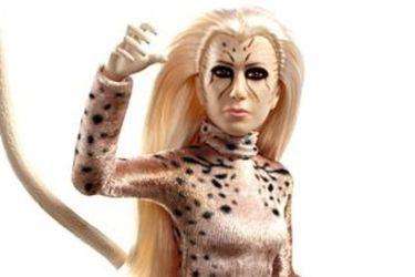 La apariencia de Cheetah resalta entre las nuevas muñecas de Wonder Woman 1984