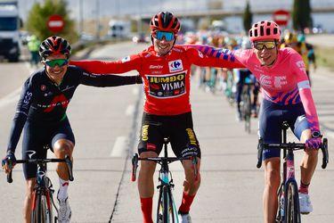 Ackermann gana la última etapa en el día del paseo triunfal de Roglic