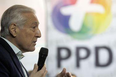 El presidente del PPD, Heraldo Munoz, concurre al Congreso Ideologico.